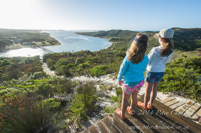 De Mond Nature Reserve from the lookout by wildlife and conservation photographer Peter Chadwick