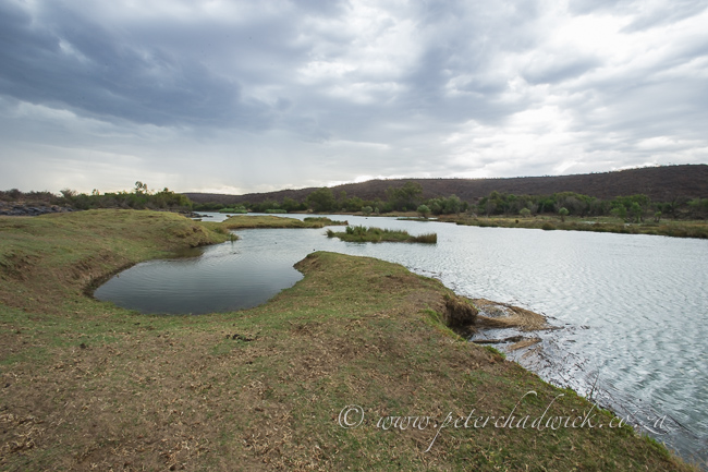 The Orange River by wildlife and conservation photographer Peter Chadwick