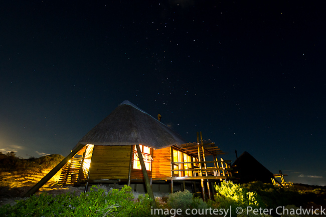 Agulhas National Park rest camp by wildlife and conservation photographer Peter Chadwick