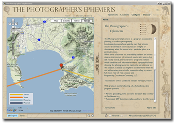 photo ephemeris