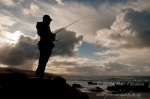 Recreational Fisher silhouette  by wildlife and conservation photographer Peter Chadwick.jpg
