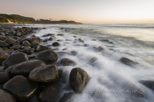 Kei mouth beach front by wildlife and conservation photographer Peter Chadwick.