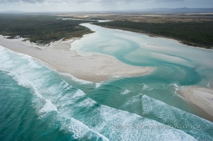 Heuningnes estuary by wildlife and conservation photographer Peter Chadwick