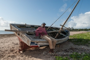 Malindi Dhow captain by wildlife and conservation photographer Peter Chadwick.
